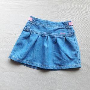 Old Navy Chambray Skirt